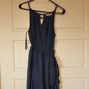 Dresses & Skirts - Blue high-low dress